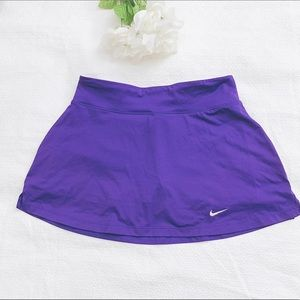 Nike dri-fit tennis golf skort skirt purple size m